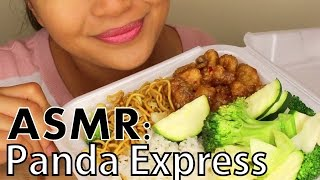 ASMR: Panda Express *American/Chinese Food* FOOD SOUNDS/WHISPERING