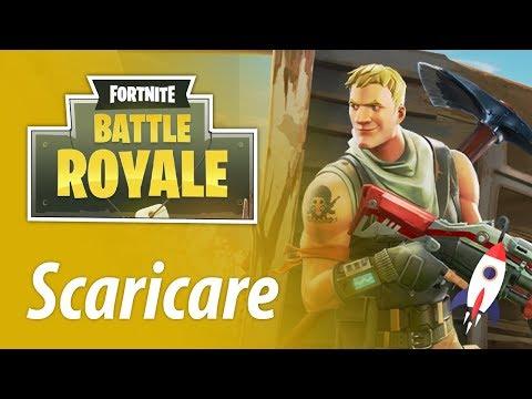 download fortnite battle royale pc ita