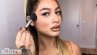 DaniLeigh's 10 Minute Zoom-Ready Beauty Routine | Allure