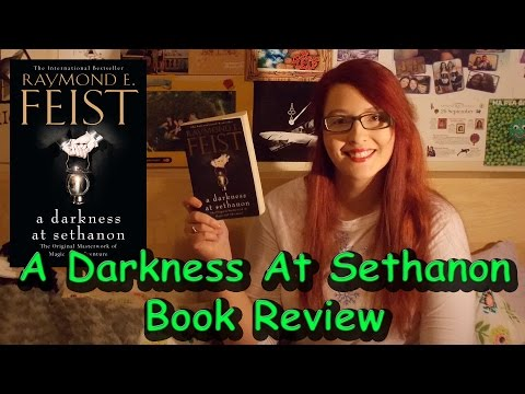 A Darkness At Sethanon (review) by Raymond E Feist #booktubesff