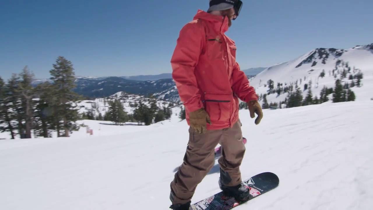 Pat Moore Snowboarding Jacket & Pants | Volcom Outerwear 2017