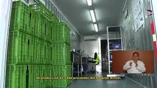 Inauguración de sistema de almacenes primarios en el Hospital Militar.