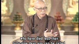 Does Buddhism believe in calling back the soul of the dead?(GDD-504, Master Sheng Yen)
