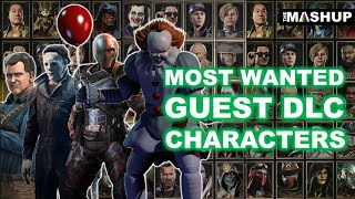 Most Wanted Guest DLC Characters - Mortal Kombat 11