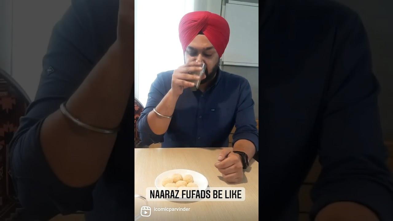 Naraaz Punjabi Fufads be like   Comedy Reel