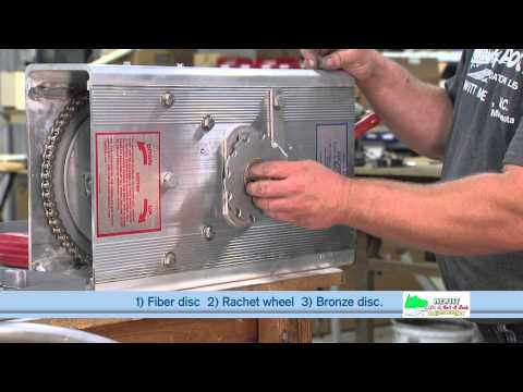 How to replace the brake pads
