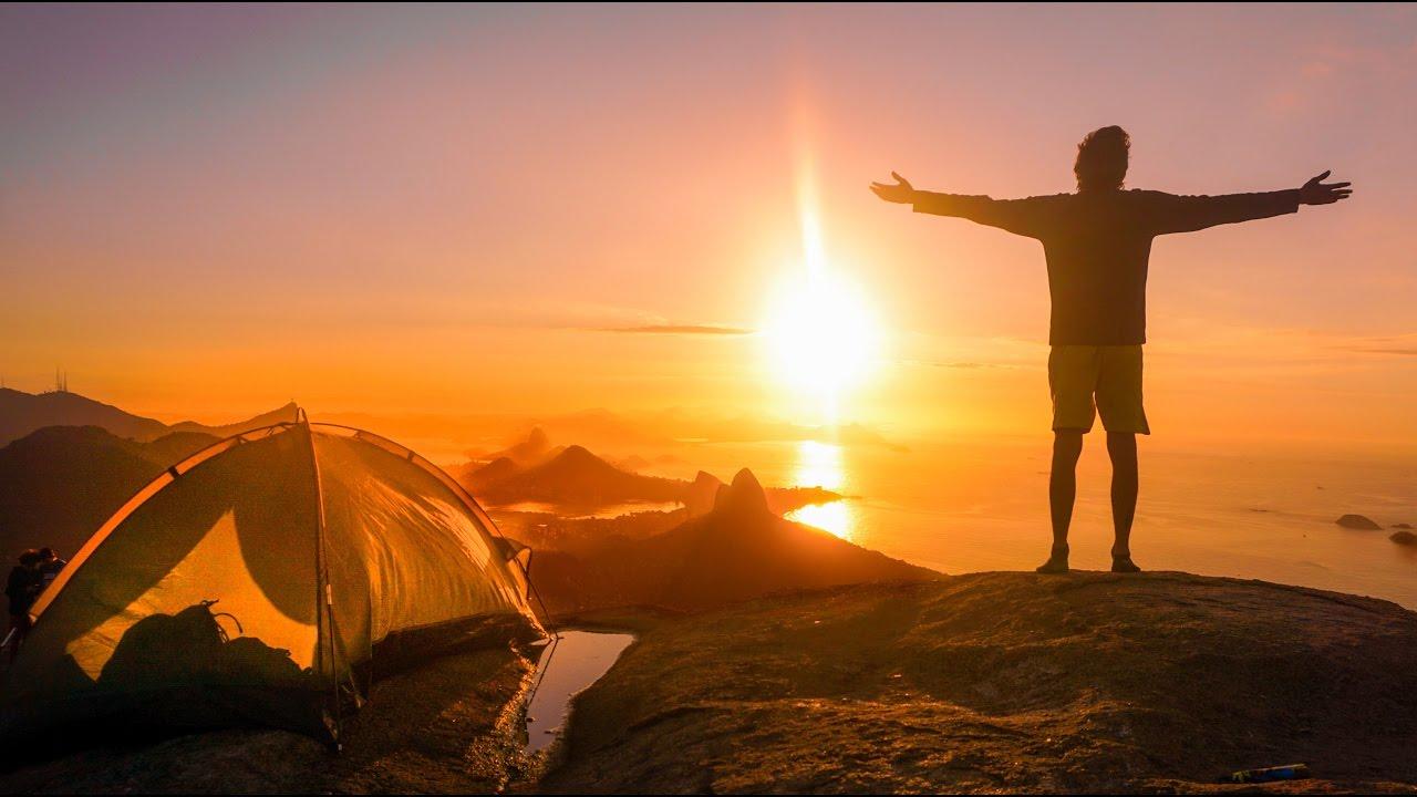 Brezilya'nın Fantastik Manzarasında Kamp Yaptım!