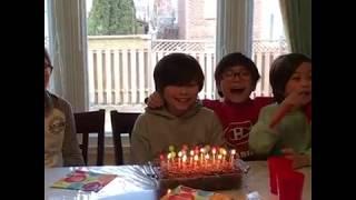 Mason's 11th Birthday! Happy Birthday Mason! We Love You!