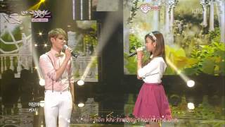 [Vietsub + Kara] K-Hunter (Feat A Pink's Bomi) - Marry Me (Acoustic Ver ) @ Music Bank