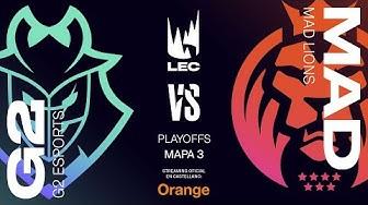 G2 Esports vs MAD Lions | LEC Spring split 2020 | Final Game 3 | League of Legends
