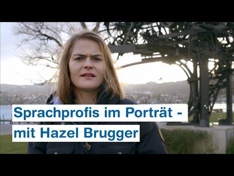 Sprachprofis im Porträt - mit Hazel Brugger