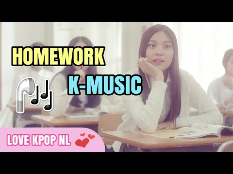 11 K-POP Songs That I Listen When I Do My Homework