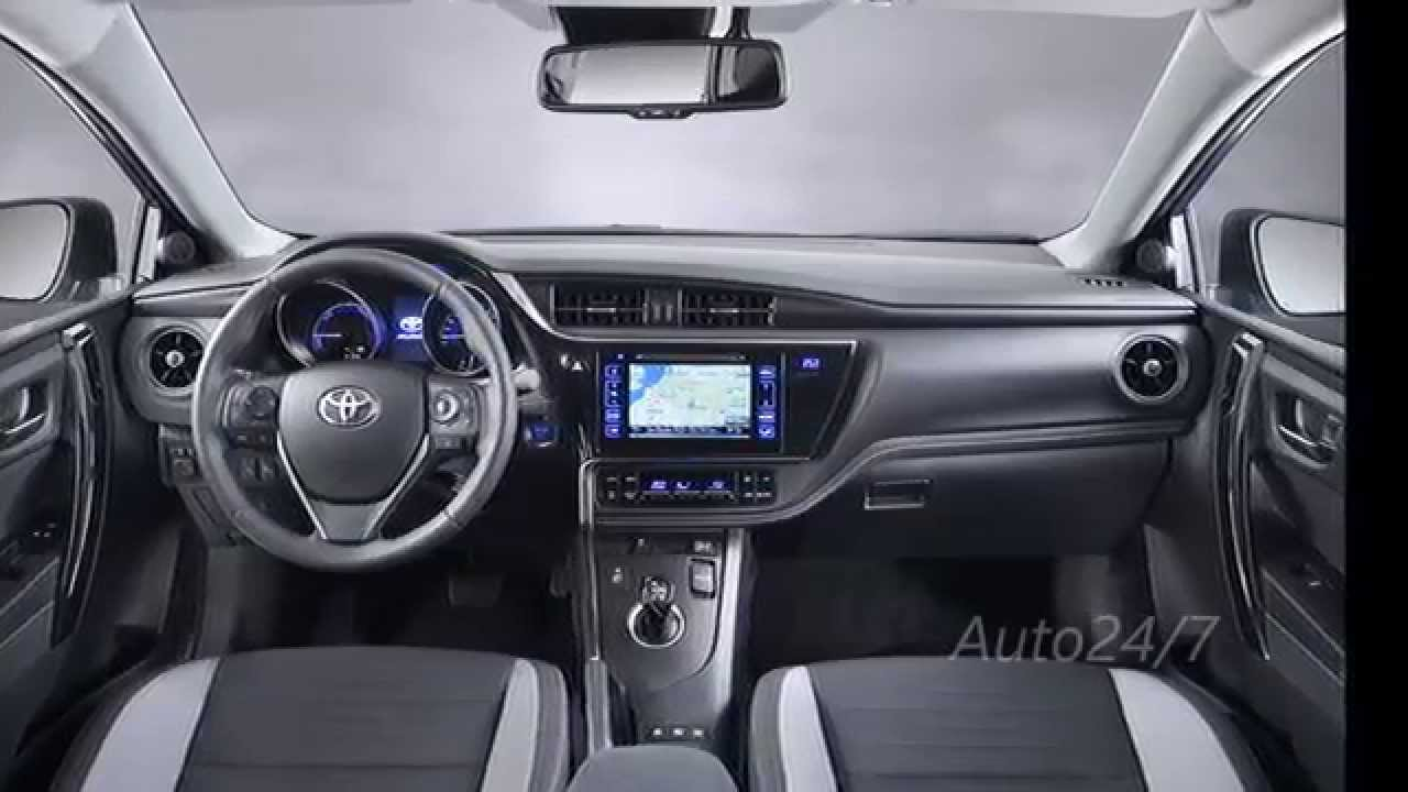 new 2015 toyota auris interior youtube
