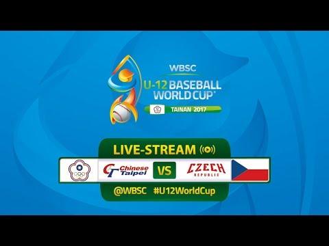Chinese Taipei v Czech Republic U-12 Baseball World Cup 2017