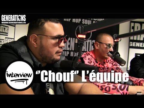 Chouf, Le film - Interview (Live des studios de Generations)