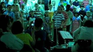 Orchard Hollow 4th grade concert EGBDF song