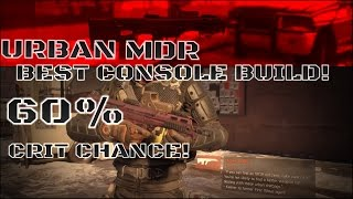 BEST URBAN MDR BUILD FOR CONSOLE PLAYERS!!