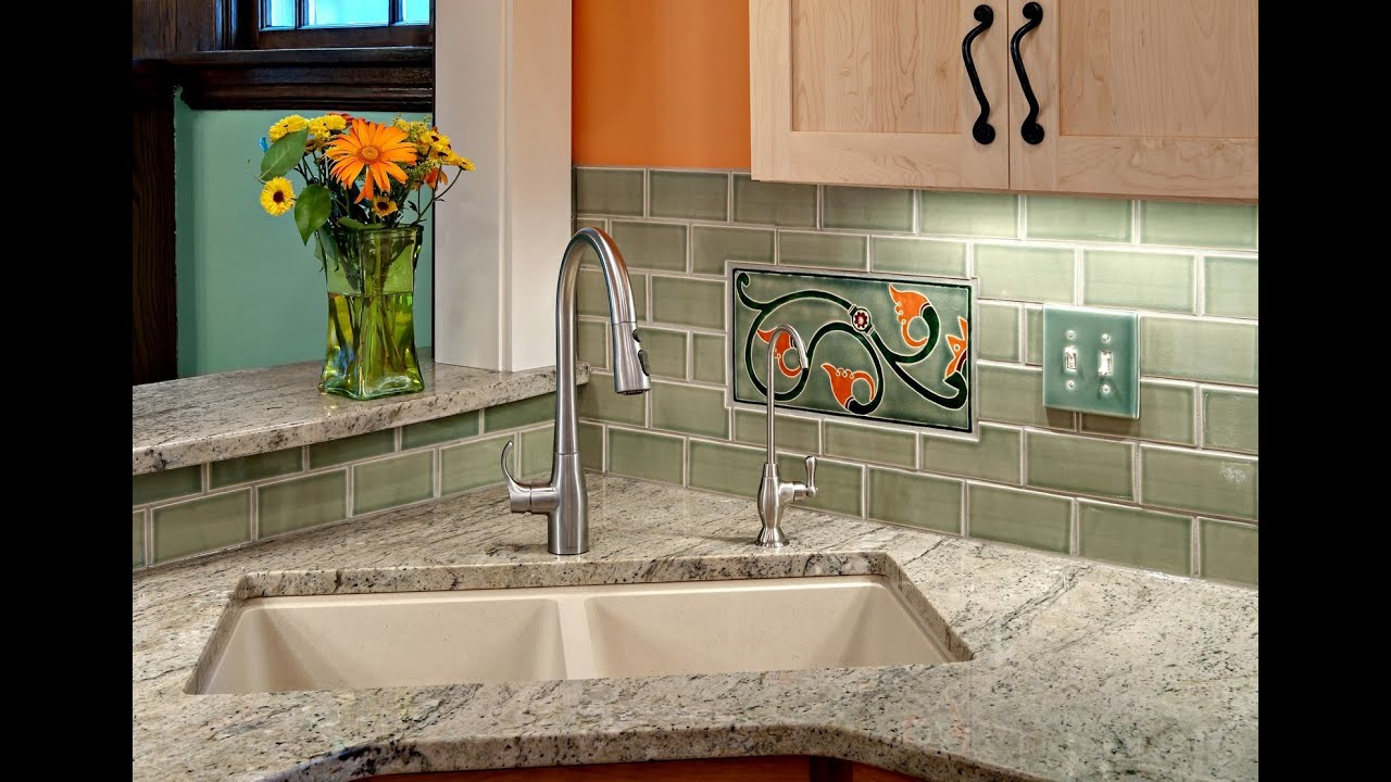 Corner Kitchen Sink | Corner Angled Kitchen Sink - YouTube