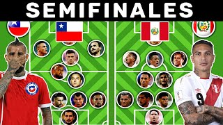 Chile vs Peru Uno a Uno   Comparativa - Copa America 2019