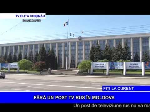 FĂRĂ UN POST TV RUS ÎN MOLDOVA