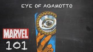 Evil-doers Beware - Eye of Agamotto - Marvel 101
