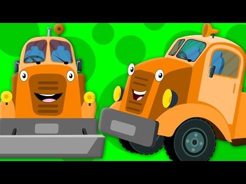 Wheels on the Tow Truck | Vehicle Songs | Learn Transport | Nurser Rhymes | Kids Song | Kids Tv