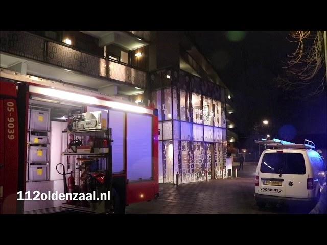 Brand in keuken Oldenzaal