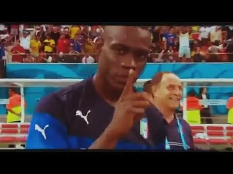 England-Italy 1-2 Balotelli silences England World Cup 2014