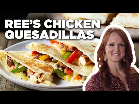 How To Make Rees Easy Chicken Quesadillas Food Network Youtube