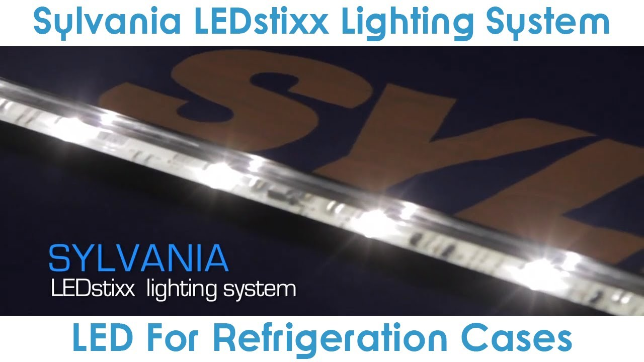 Goodmart Ledsti Lighting System By Sylvania For Refrigeration Cases