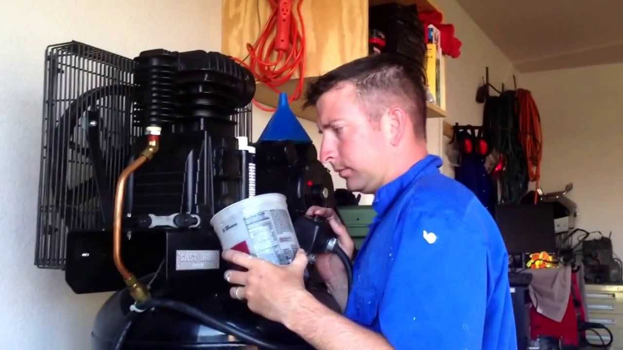 maxresdefault kobalt 60 gal compressor oil change youtube kobalt 80 gallon air compressor wiring diagram at bayanpartner.co