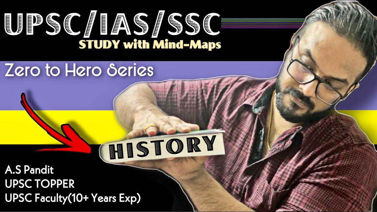 MY History MIND MAPS for UPSC Prelims 2020 & SSC CGL/CHSL/NTPC