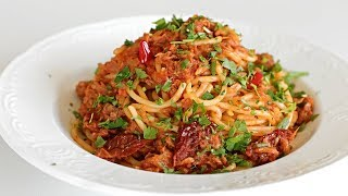 Spaghetti with Tuna &amp Tomato Sauce Recipe