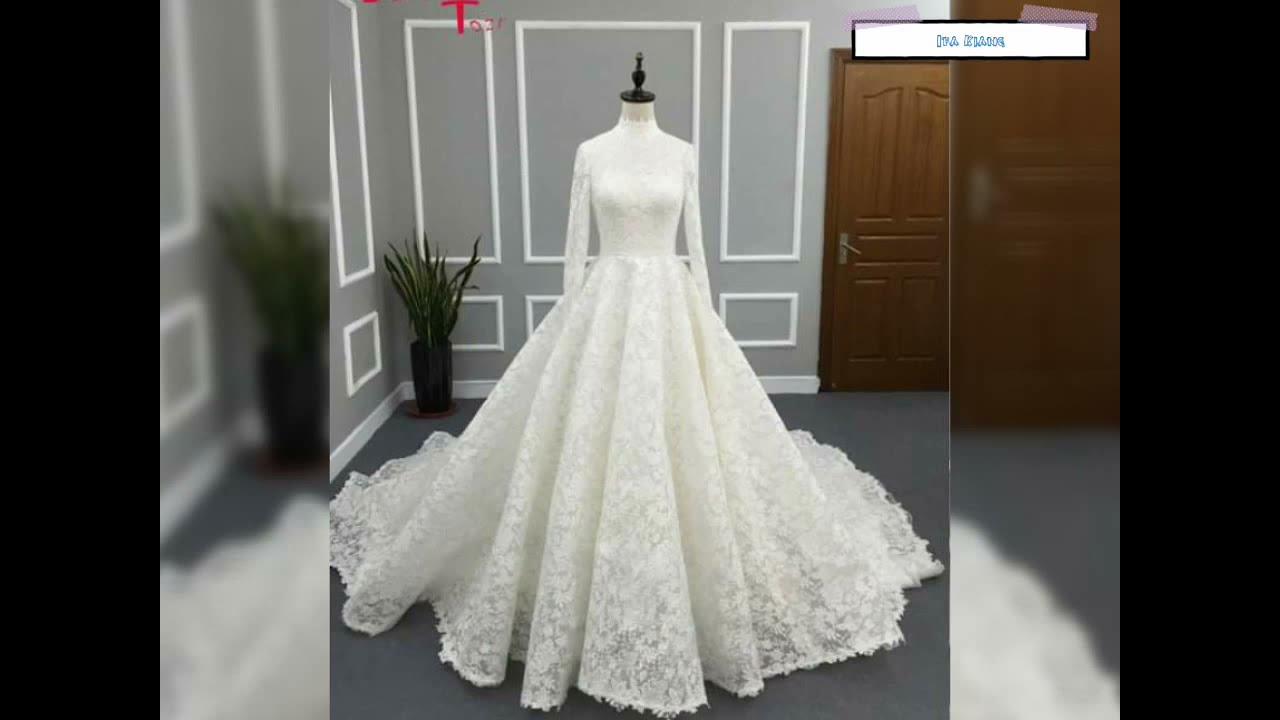 Inspirasi gaun pengantin mewah cantik dan anggun