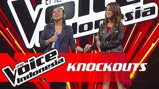 Adinda vs Annisa | Knockouts | The Voice Indonesia GTV 2018