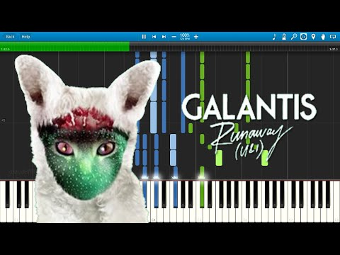 Galantis - Runaway (U & I) - Piano Cover / Tutorial
