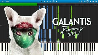 Galantis - Runaway (U & I) - Piano Cover / Tutorial