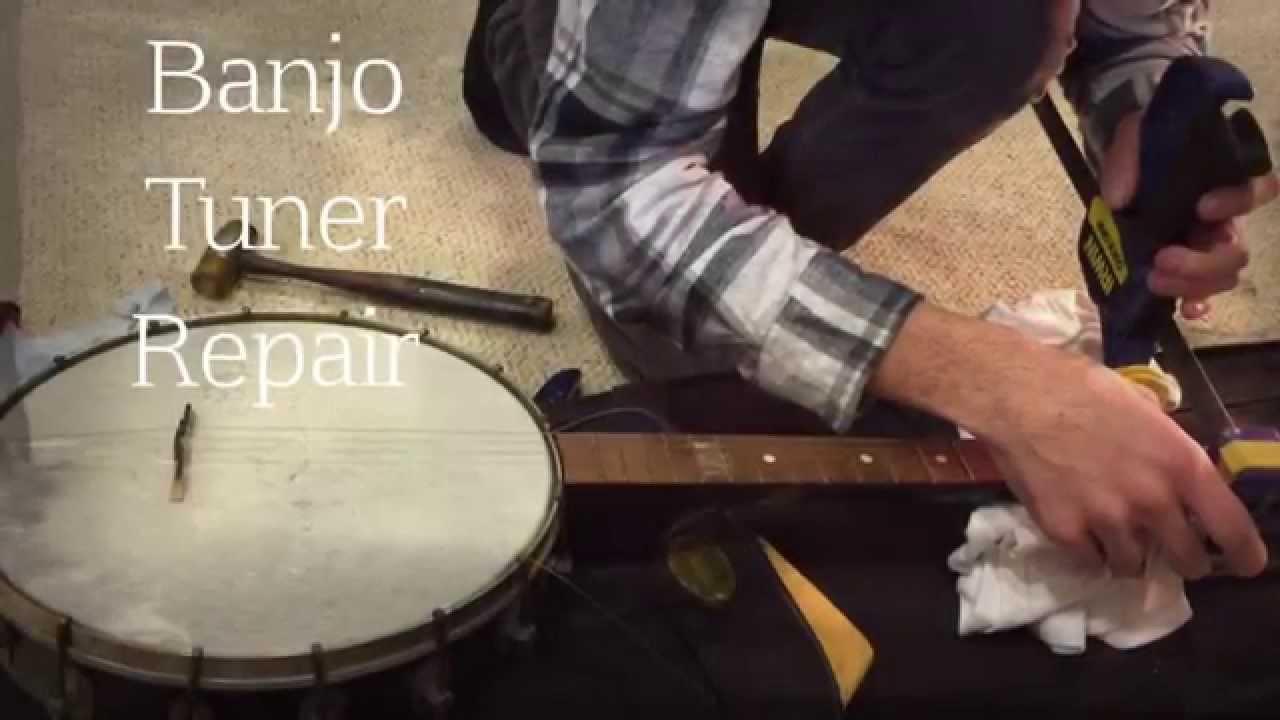 Banjo Tuner Repair!