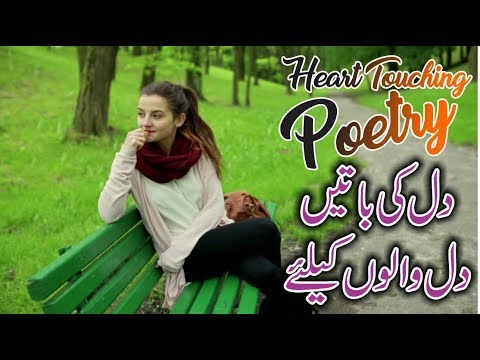Dil Ki Batein Dil Walon Ky Leye || Best Heart Touching Urdu Poetry With Voice
