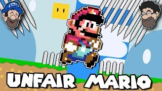 The BIGGEST troll game... || Unfair Mario