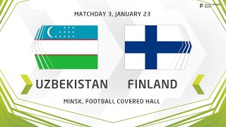 Development сup 2020 Uzbekistan vs Finland