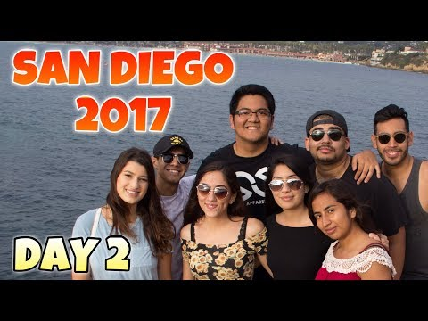 EXPLORING AN UNDERGROUND SEA CAVERN! San Diego 2017: Day 2 | Keeping Up With Klenn