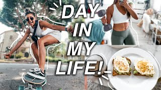 FULL day in my life - what I eat, workout, & more! l VLOG