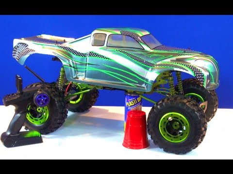 rc adventures budget crawler build under 300 build a 1 5th 4x4 monster truck youtube. Black Bedroom Furniture Sets. Home Design Ideas