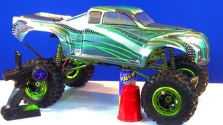 RC ADVENTURES - BUDGET CRAWLER BUiLD UNDER $300 - Build a 1/5th 4X4 MONSTER TRUCK
