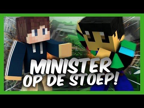 DE MINISTER OP DE STOEP?! - Minetopia - #508 | Minecraft Reallife Server