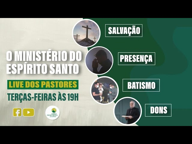 Live dos Pastores - 12.10.2021 - 19h