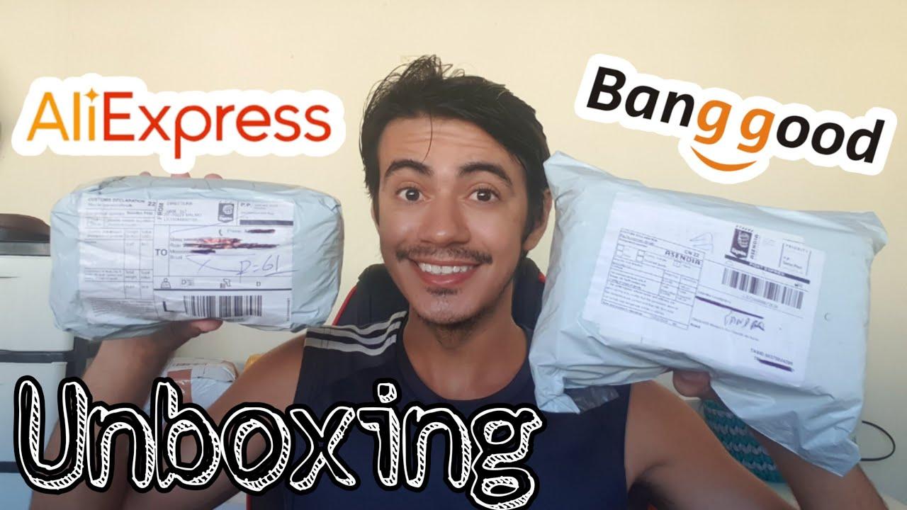 Recebi 2 pacotes da BANGGOOD e ALIEXPRESS |  Unboxing Brasil 2020!