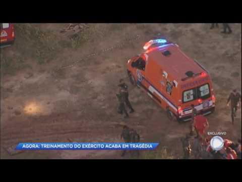 Treinamento do Exército acaba em tragédia em Barueri