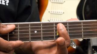 Otis Redding DOCK OF THE BAY How To Play The INTRO & OUTRO Melodies On Guitar Lesson